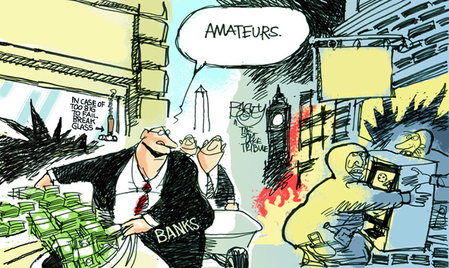 ΕΙΚΟΝΑ---τράπεζες Η μεγάλη ληστεία