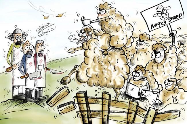 Πρόβατα-αγριεμένα Γιατί σιωπούν τα πρόβατα;