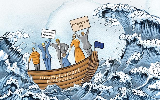 ανεργία-στην-Ευρώπη