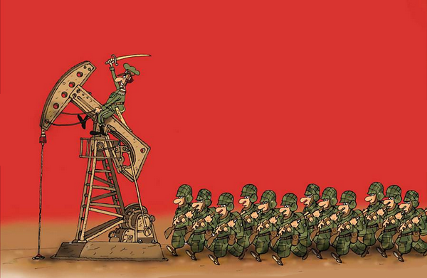Το όπλο του πετρελαίου