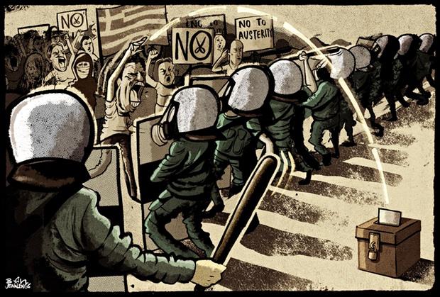 Ελλάδα-δημοψήφισμα Δημοψήφισμα τώρα!