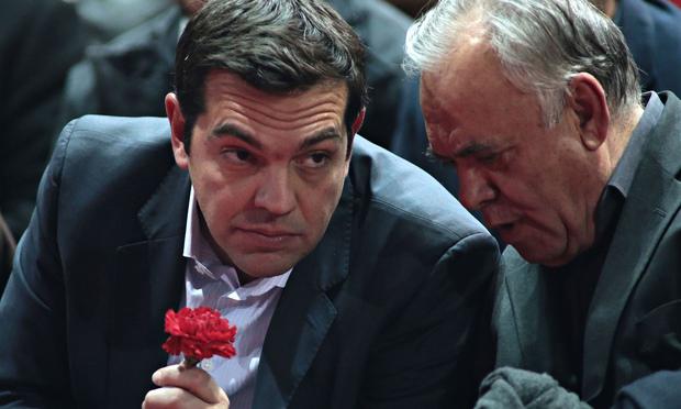 ΕΙΚΟΝΑ---Τσίπρας,-Παπανδρέου,-Σαμαράς,-μνημόνιο,-δημοψήφισμα