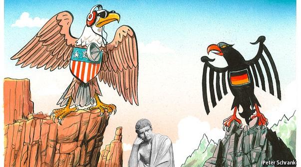 ΕΙΚΟΝΑ---Γερμανία,-ΗΠΑ,-Ελλάδα. Στη διελκυστίνδα Η.Π.Α. - Γερμανίας