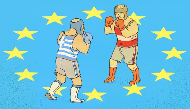 ΕΙΚΟΝΑ---Ελλάδα,-Γερμανία Γερμανία εναντίον Ελλάδας;