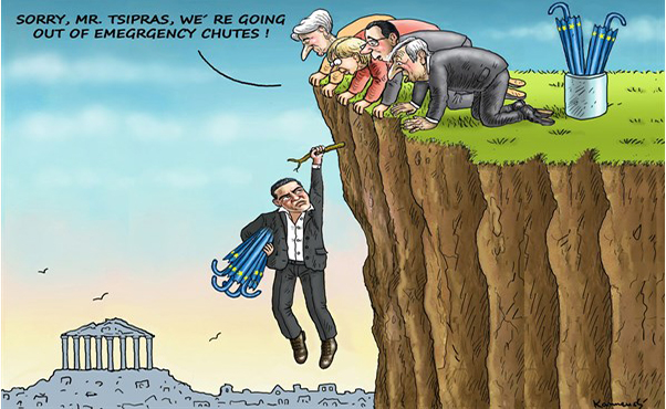 ΕΙΚΟΝΑ---Ελλάδα Ο ευρωπαϊκός εφιάλτης