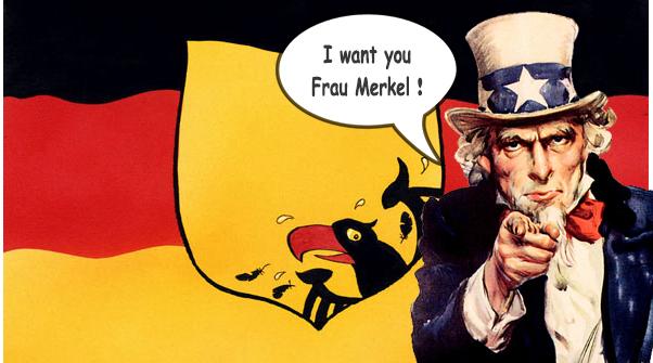ΕΙΚΟΝΑ---Γερμανία Ο εκβιασμός της Γερμανίας