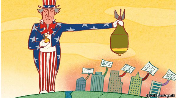 ΕΙΚΟΝΑ---Κόσμος,-χρέος,-ΗΠΑ Ο χάρτινος πύργος